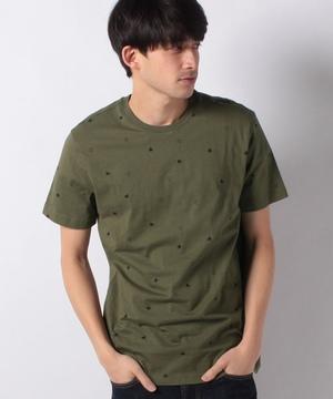 ドットプリント半袖Tシャツ・カットソー