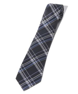 ベネトンチェック柄ネクタイ(シルク製)