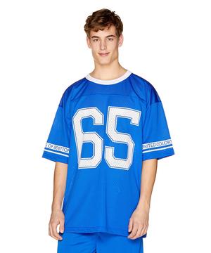 メッシュフットボール半袖Tシャツ・カットソー