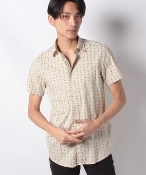 総柄半袖シャツ
