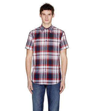 総柄半袖シャツ2