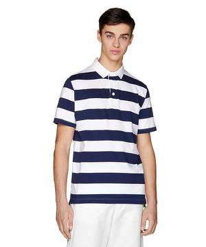 ボーダーラガーポロシャツ1