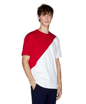 カラーブロック半袖Tシャツ・カットソー