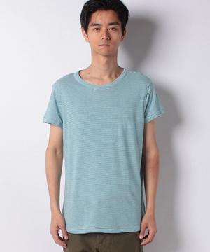 リネン混ボーダー半袖Tシャツ・カットソー
