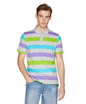 ボーダーラガーポロシャツ2