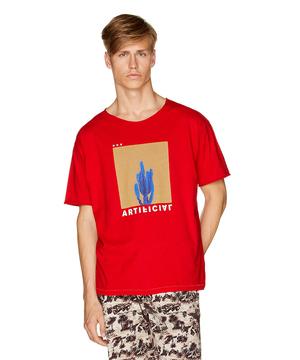 ドロップショルダーグラフィックTシャツ・カットソー
