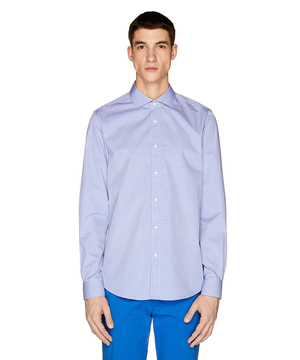 スリムフィット100%コットンドビーシャツ