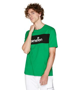 パネルロゴ半袖Tシャツ・カットソー