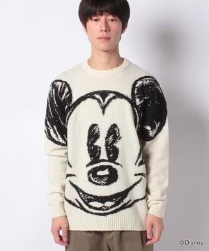 【Disney(ディズニー)コラボ】ミッキーマウスニット・セーター