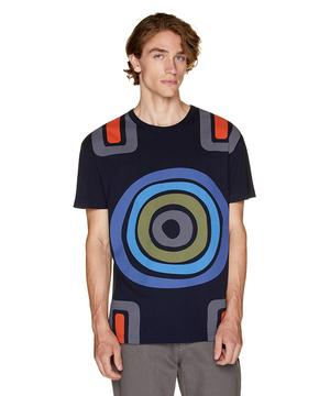 デザイン総柄Tシャツ・カットソーJCC