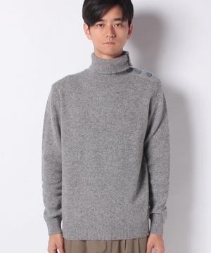 メランジタートルネックニット・セーター