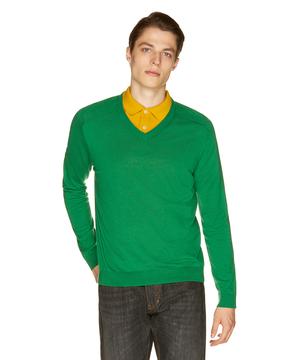 Vネックニット・セーター