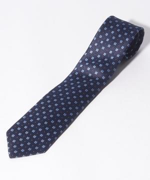 ベネトン小紋柄ネクタイ(シルク製)