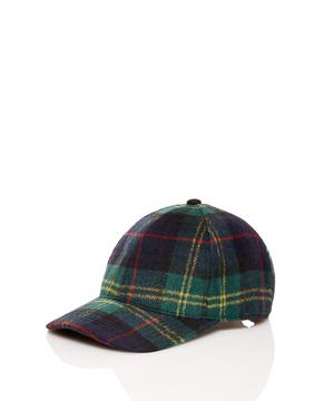 チェックキャップ・帽子