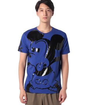 【Disney(ディズニー)コラボ】ミッキーマウスループロゴTシャツ・カットソー
