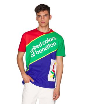 レインボーカラーロゴ半袖Tシャツ・カットソー
