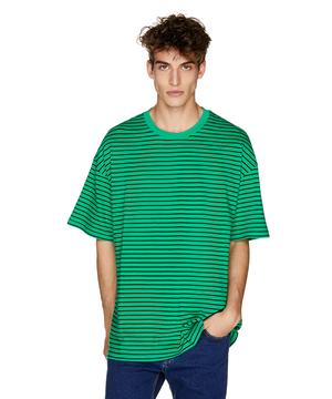 バナーロゴボーダー半袖Tシャツ・カットソーJCC
