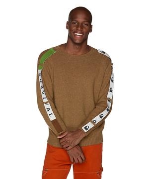サイドテープニット・セーター