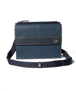 ポイントカラーウォレット付き横型ショルダーバッグ
