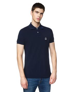 スリムフィットポロシャツ