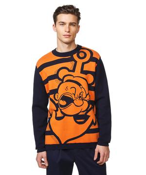 【Popeyeコラボ】ポパイボーダーニット・セーター