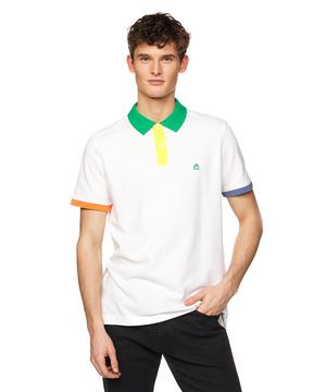 レインボーフラッグポロシャツ