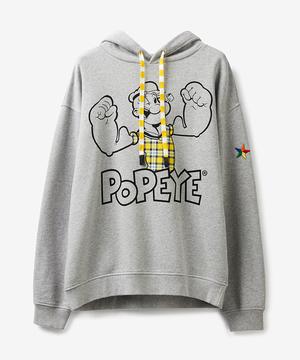 【Popeyeコラボ】ポパイパーカートップス