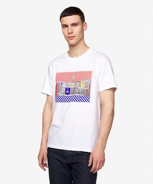 フォトグラフィックプリントTシャツ・カットソー