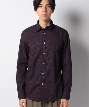 ドビー織りスリムフィットシャツ