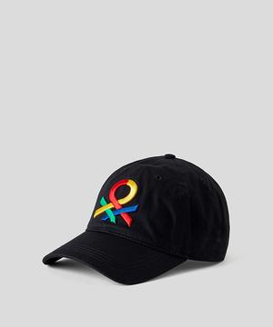 ベネトンロゴキャップ・帽子