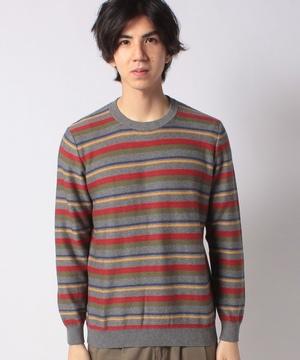 ボーダーニット・セーター