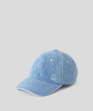 デニムベースボールキャップ・帽子