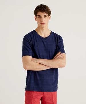 シャドーボーダー半袖Tシャツ・カットソー