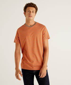 クルーネックボーダー半袖Tシャツ・カットソー
