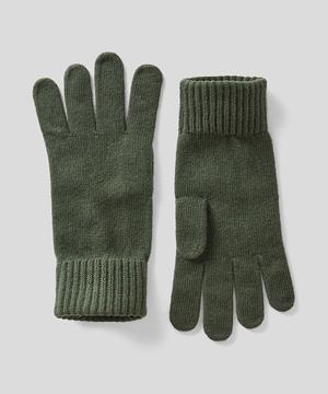 ヴァージンウール100%ニットグローブ・手袋