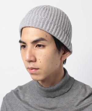 ヴァージンウール100%シンプルニット帽・ワッチキャップ