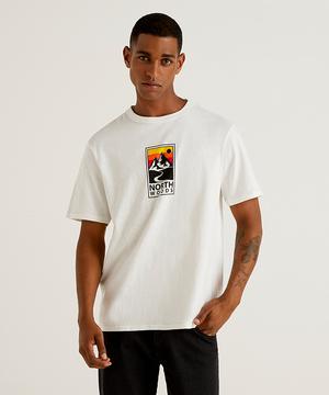 プリント半袖Tシャツ・カットソー