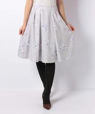 フラワープリントふんわりスカート