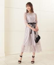 ラッセルレースドレス