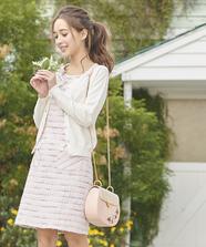 【美人百花3月号掲載】スパンコール刺繍カーディガン