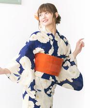 桜柄浴衣3点Set