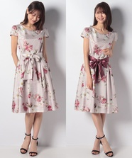 ShabbychicFlowerドレス