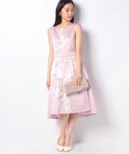 阪急限定フラワープリントドレス