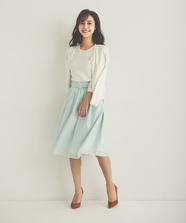 エアリーカラーふんわりスカート
