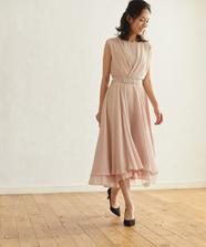 カシュクール風ドレス