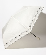 フラワー刺繍日傘