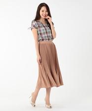 【美人百花5月号掲載】プリーツスカート