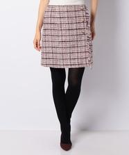 ファンシーチェックツイードスカート