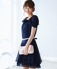 フラワーモチーフドレス