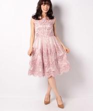 クラシカル刺繍ドレス